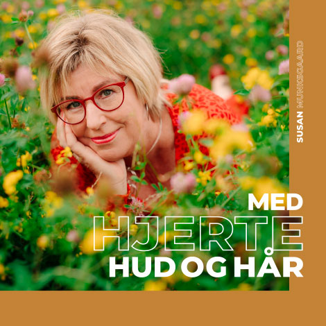 Album Hjerte Hud og Hår af Susan Munksgaard